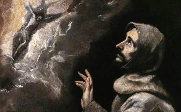 Sf. Francisc de Assisi primind stigmatele (El Greco)