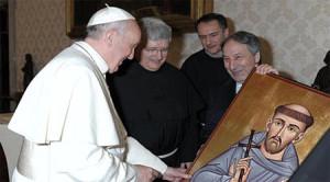 Ministrul general în audiență la Papa Francisc