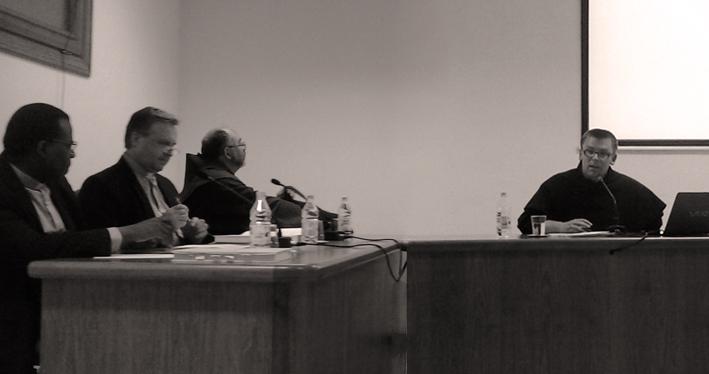 Pr. Adrian Măgdici OFMConv. la apărarea de doctorat