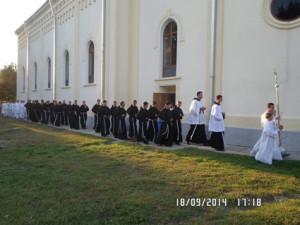 Procesiunea de după Sfânta Liturghie