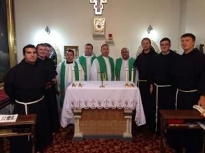 Frații care s-au pregătit pentr profesiunea solemnă
