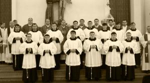 Institutul Franciscan, lectorat & acolitat  2014