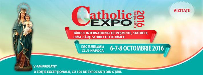 Târgul Internațional Catholic Expo, 6-8 octombrie 2016, Cluj-Napoca