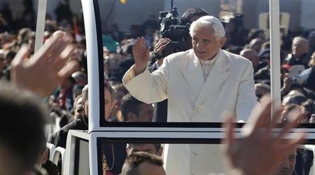 Benedict al XVI-lea, ultima audiență