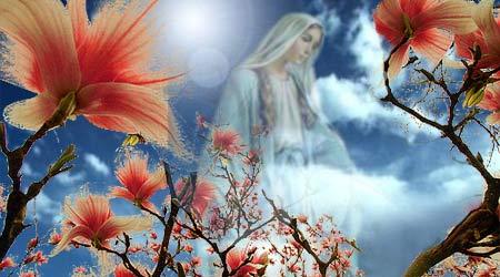 Altarul Maicii sfinte / cu flori să-mpodobim ...