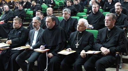 Aula magna a Institutului Franciscan din Roman