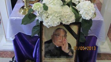 Pr. Johann Proschinger OFMConv (n. 1925 – † 2013)