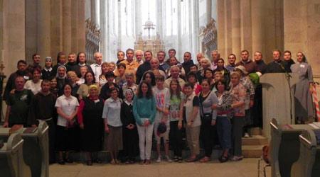întâlnirea familiei franciscane