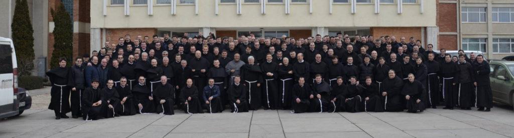 Frații de la Capitulul Provincial Ordinar - 2016